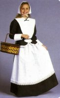 Pilgrim Child Girl Costume, Size Child 10 - 12