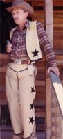 Cowboy Costume, Size Small - Medium