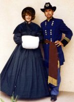 Southern Belle - Winter Dickens Costume Size 14 MD