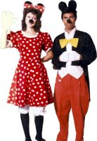 Minnie Mouse Costume Size SM
