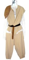 Renaissance Peasant Man Size Large, Tan