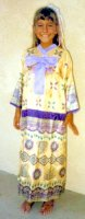 Japanese Oriental Child Costume, Size Ch 6