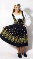 German Serving Maid Costume, Size 10 - 12 MD