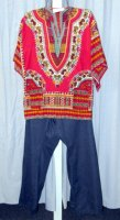 1960's - 1970's Man Costume Size XLG