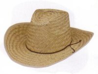 COWBOY HAT - ADULT-STRAW