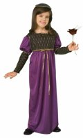 Medieval Princess Child Costume Size Child 6 - 8