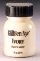 IVORY HAIR COLOR MAKEUP