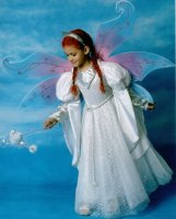 Child Angel Costume, Size 8 - 10