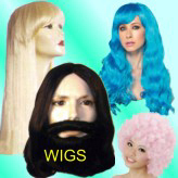 Quality selection of wigs year around! Jesus Wig & Beard Set, 1920's Fingerwaves, Dreadlocks, Clown wigs