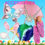 Accessories for Easter costumes, 1920's, Victorian, Babies, French Maids and so much more!