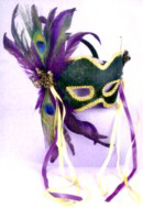 Costume Accessories for Renaissance Faire, Mardi Gras, Clowns, Halloween