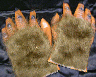 HAIRY GLOVES HANDS