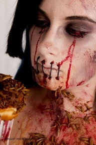 Halloween Gross Makeup DIY by Ben Nye
