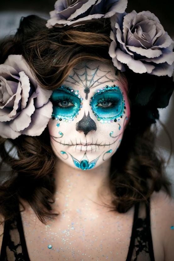 Sugar Skull Day of the Dead Makeup DIY by Ben Nye