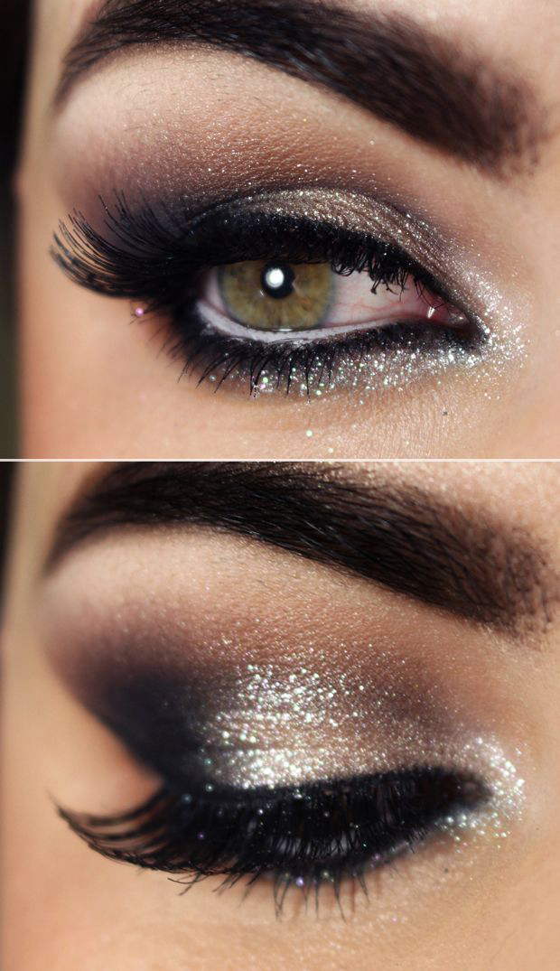 Sexy Smokey Eye Makeup DIY