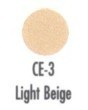 FOUNDATION CREME FACE MAKEUP - LIGHT BEIGE #CE-3
