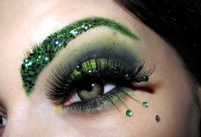 St. Patrick's Day or Mardi Gras Makeup DIY by Ben Nye