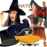 Halloween Hats, Crowns, Tiaras, Circlets