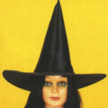 WITCH HAT - SATIN