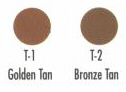 CREME FOUNDATIONS Tan Series color chart