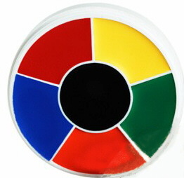 RAINBOW WHEEL MAKEUP