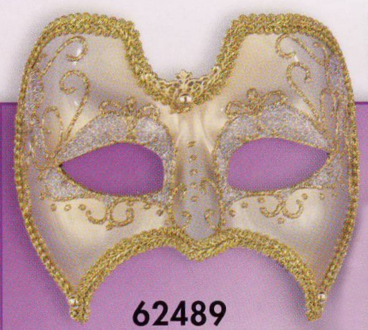 Gold Mask with Filigree, Trim