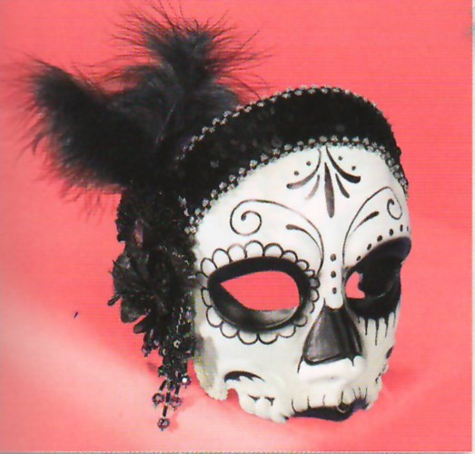 DAY of the DEAD FLAPPER MASK