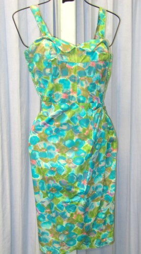 1940s Dress Costume Size 10 - 12 MD, Green