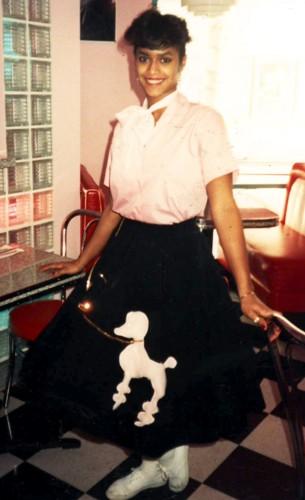 1950s Poodle Skirt Rental Size Most Black