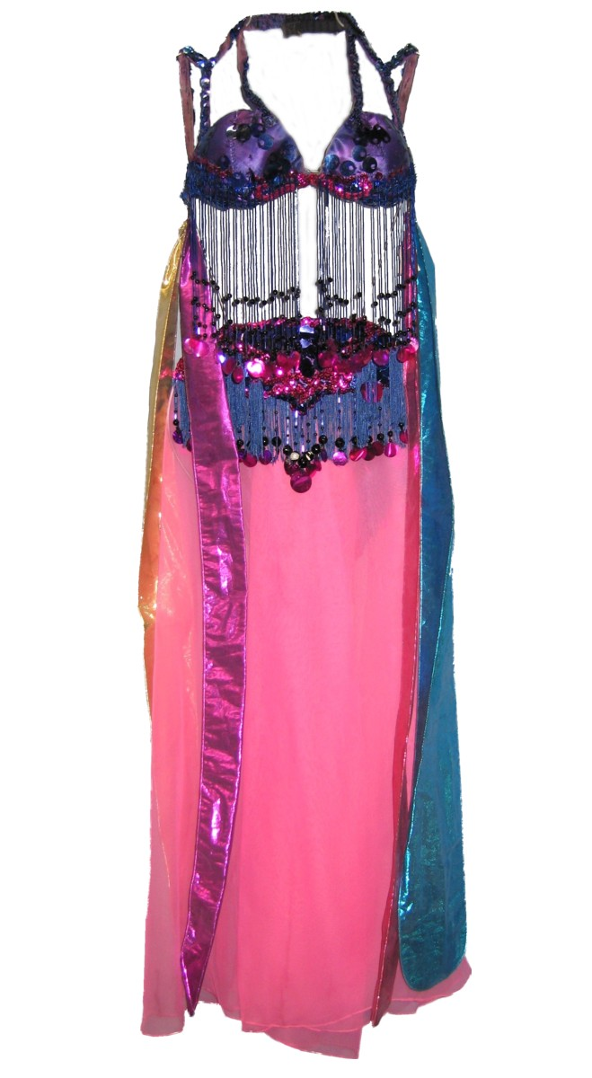 Belly Dancer Costume Size Small - Medium