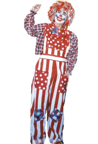 Clown Costume Size SM - MD #4308
