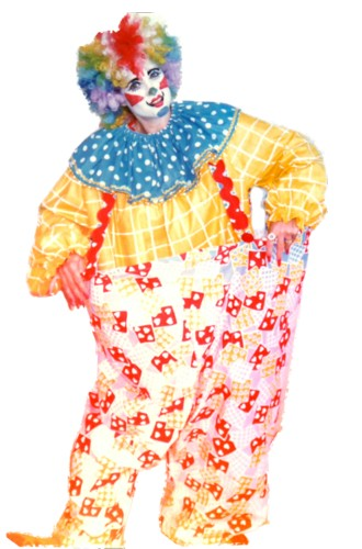 Clown - Hooper the Clown Costume Size Most