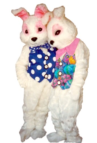 Easter Egg Bunny Costume, Size Most #7236