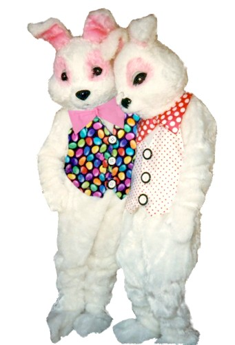 Jellybean Bunny Costume, Size Most #7235