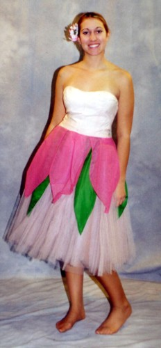 Deluxe high quality costumes for sale 0005019 flower costume pink mightylinksfo