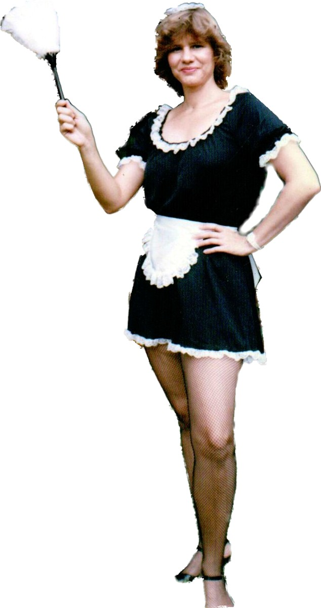 Maid Costume, Size MD-XL
