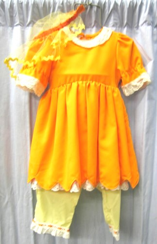 PETAL DRESS CHILD FLOWER SIZE CHILD 5