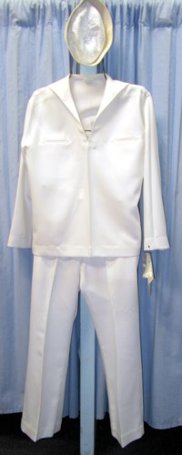 Military Navy Sailor Costume Size 42 MD