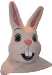 Easter Bunny head closeup