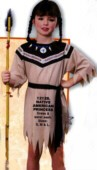INDIAN CHILD COSTUME - NATIVE AMERICAN