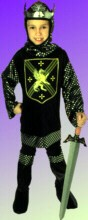 KNIGHT COSTUME - WARRIOR KING - CHILD