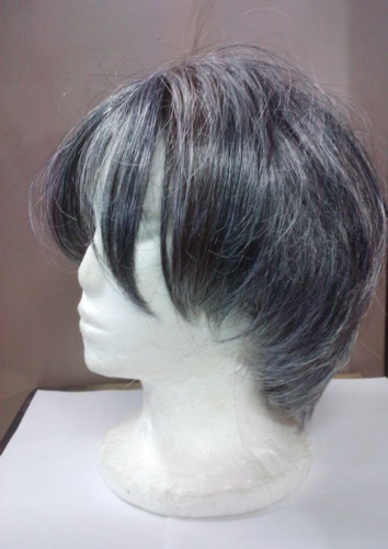 MENS WIG - Mixed Grey