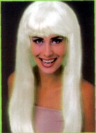 SEVENTIES / CHER LONG STRAIGHT WIG - GLOW